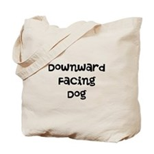 Downward Facing Dog Tote Bag