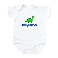 Babysaurus dinosaur Infant Bodysuit