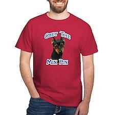 Min Pin Obey T-Shirt