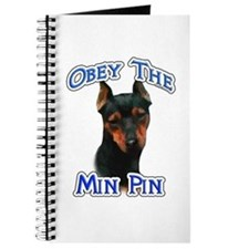 Min Pin Obey Journal