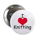 I *heart* knitting Button