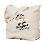 little brother monkey crossout Tote Bag