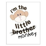little brother monkey crossout Small Poster