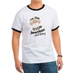 ADULT SIZES little brother monkey Ringer T