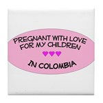 Pregnant With Love- Children in Colombia  Tile Coa