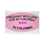 Pregnant With Love- Children in Colombia Rectangl