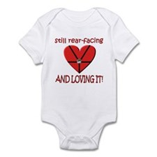 Cute Rear facing Infant Bodysuit