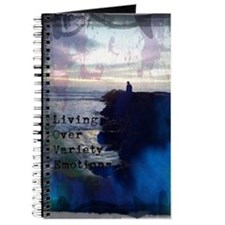 Deep Blue Love Journal