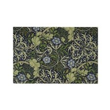 William Morris Seaweed Rectangle Magnet