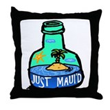Just Maui'd Bottle Throw Pillow