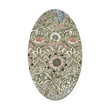 William Morris Corncockle Oval Car Magnet