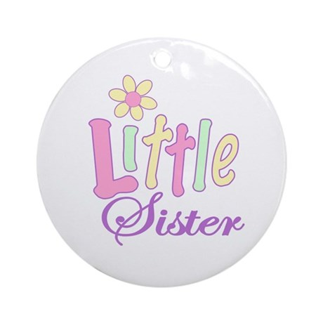 Little Sister Ornament (Round)
