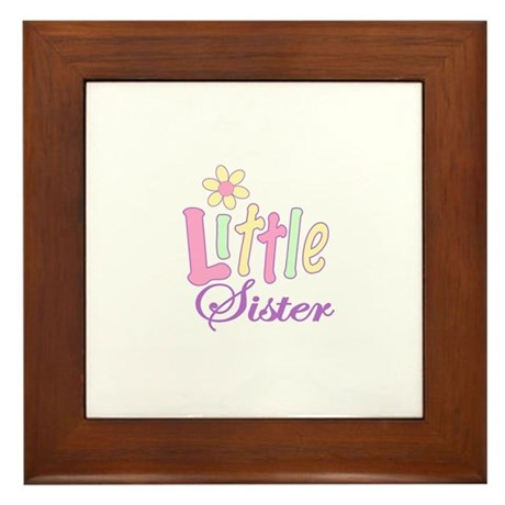 Little Sister Framed Tile