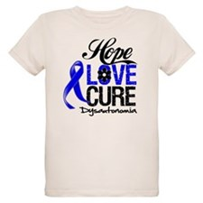 Hope Love Cure Dysautonomia T-Shirt