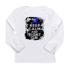 Keep Calm Fight Dysautonomia Long Sleeve T-Shirt