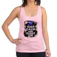 Keep Calm Fight Dysautonomia Racerback Tank Top