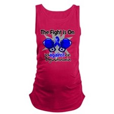 Fight is On Dysautonomia Maternity Tank Top