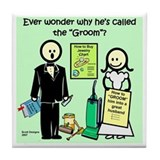 The Groom Tile Coaster
