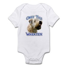 Wheaten Obey Infant Bodysuit