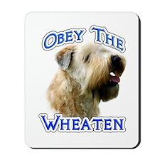 Wheaten Obey Mousepad