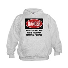 Personalized Danger Sign Hoodie