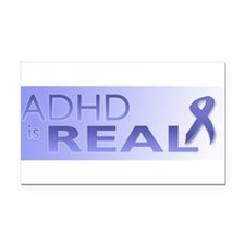 Cute Adhd Rectangle Car Magnet