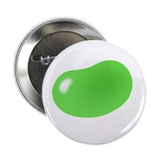 "bigger jellybean green 2.25"" Button (100 pack)"