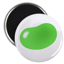 "bigger jellybean green 2.25"" Magnet (100 pack)"