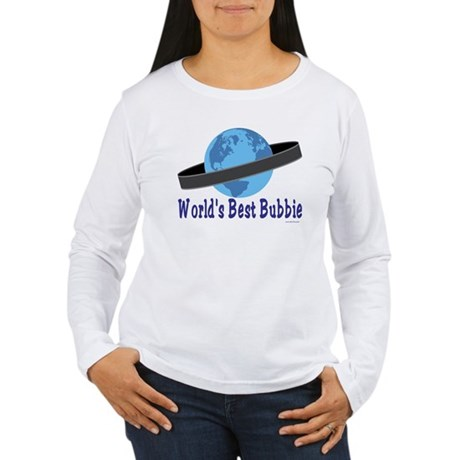 World's Best Bubbie Women's Long Sleeve T-Shirt