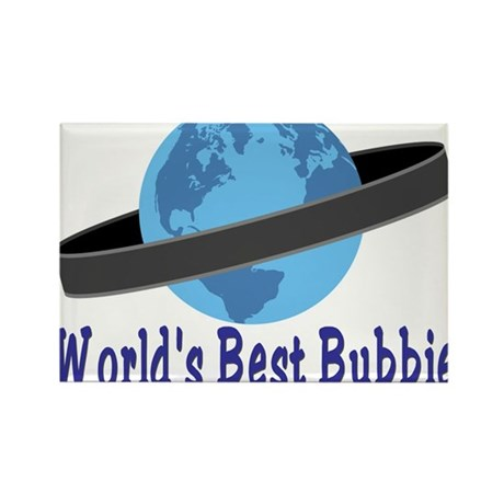 World's Best Bubbie Rectangle Magnet