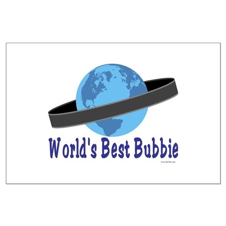 World's Best Bubbie Large Poster