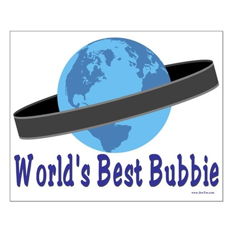 World's Best Bubbie Small Poster