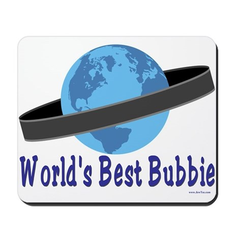 World's Best Bubbie Mousepad