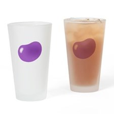 bigger jellybean purple Drinking Glass
