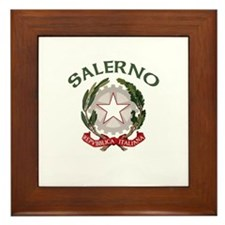 Salerno, Italy Framed Tile
