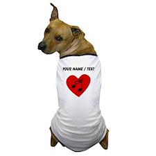 Custom Music Heart Dog T-Shirt