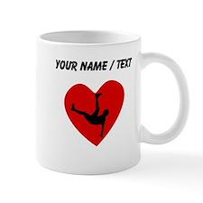 Custom Dancing Heart Mugs