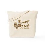 Cock Push Up Vintage Tote Bag