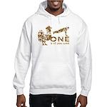 Cock Push Up Vintage Hooded Sweatshirt