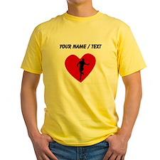 Custom Running Heart T-Shirt