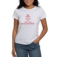 Keep Calm and Trust the Insurance Broker T-Shirt