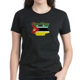 Mozambique flag ribbon Tee