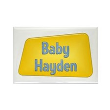 Baby Hayden Rectangle Magnet