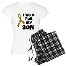 Autism Walk For Son Pajamas