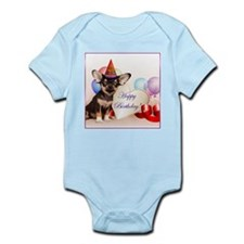 Birthday Chihuahua dog Body Suit