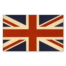 Vintage Union Jack Flag Bumper Stickers