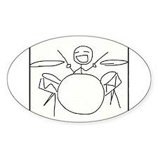 Drummer Decal