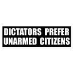 Dictators Prefer Bumper Sticker