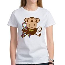 Monkey Autism Hope Tee