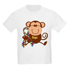 Monkey Autism Hope T-Shirt